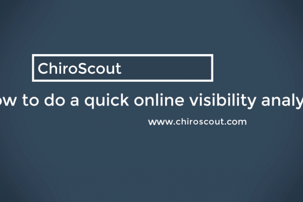 [VIDEO] 7 Quick Ways to Do An Online Visibility Analysis
